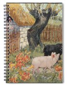 The Three Little Pigs Spiral Notebook
