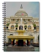 The United States Capitol Spiral Notebook