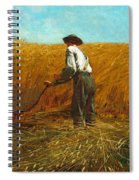 The Veteran In A New Field Spiral Notebook