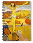 The Yellow Christ Spiral Notebook