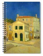 The Yellow House Spiral Notebook