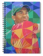 Tiger Woods Spiral Notebook
