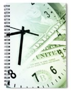 Time Is Money Spiral Notebook