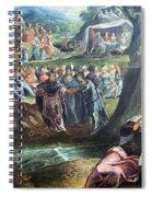Tintoretto's The Worship Of The Golden Calf Spiral Notebook