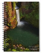 Toketee Falls - Oregon Spiral Notebook