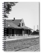 Toppenish Train Station Spiral Notebook