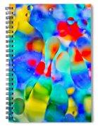 Touch/respond Spiral Notebook