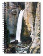 Tower Falls Yellowstone National Park Spiral Notebook
