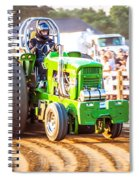 Tractor Pull Spiral Notebook