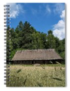 Traditional Polish Cottage House Spiral Notebook