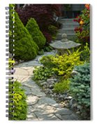 Tranquil Garden  Spiral Notebook