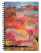 Tranquility With Tree Spiral Notebook