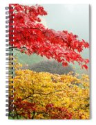 Trees In A Garden, Butchart Gardens Spiral Notebook
