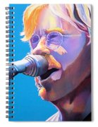 Trey Anastasio Spiral Notebook