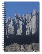 Tsingy De Bemaraha Madagascar Spiral Notebook