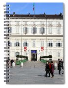 Turin Palazzo Reale Spiral Notebook