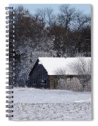Turn The Page Winter Edition Spiral Notebook