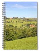 Tuscany - Montepulciano Spiral Notebook