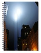 Twin Beams I Spiral Notebook