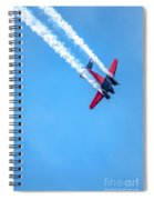 Twin Engine Plane  Spiral Notebook