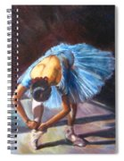 Tying Shoes Spiral Notebook