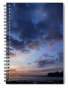 Tynemouth Sunrise Spiral Notebook