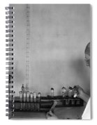 Typhoid: Vaccine, C1917 Spiral Notebook