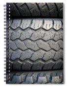 Tyre Tread Spiral Notebook