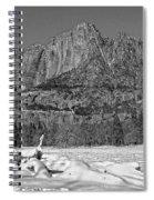 Snowy Yosemite Spiral Notebook