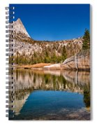Upper Cathedral Lake Spiral Notebook