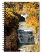 Upper Falls Spiral Notebook