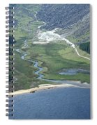 Upper Lake At Glendalough Spiral Notebook