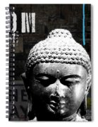 Urban Buddha  Spiral Notebook