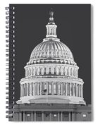 Us Capitol Dome Spiral Notebook