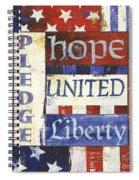Usa Pride 1 Spiral Notebook