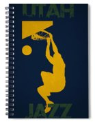 Utah Jazz Spiral Notebook