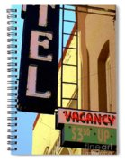 Vacancy Spiral Notebook
