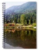 Vail Reflections Spiral Notebook