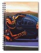 Valentino Rossi On Ducati Spiral Notebook