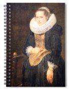 Van Dyck's Portrait Of A Flemish Lady Spiral Notebook