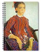 Van Gogh's La Mousme Spiral Notebook
