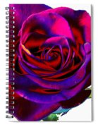 Velvet Rose Spiral Notebook
