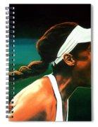 Venus Williams Spiral Notebook