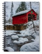 Vermonts Moseley Covered Bridge Spiral Notebook
