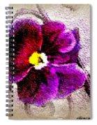 Vibrant Violet  Spiral Notebook