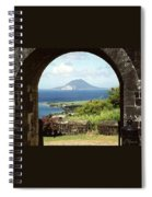 View From Brimstone Hill Fortress Spiral Notebook
