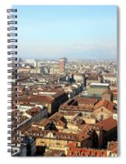 View Of Turin Spiral Notebook