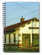 Villisca Train Depot Spiral Notebook