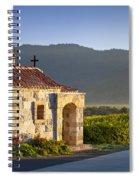 Vineyard Prayer Chapel Spiral Notebook