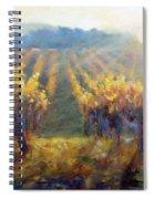 Vineyard Sunset Spiral Notebook